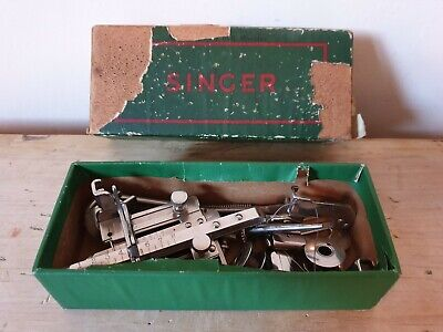 Vintage Singer Sewing Machine Tools Parts Simanco Scree Drivers Bobbin Zip +More