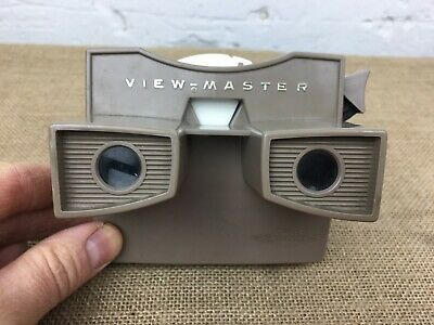 VINTAGE 1960s SAWYERS VIEWMASTER MODEL G REEL VIEWER WITH REEL