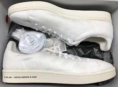 online retailer b1ef3 ab68e adidas Campus SE United Arrows  Sons Slam Jam White Stan Smith BB6449 Sz 12