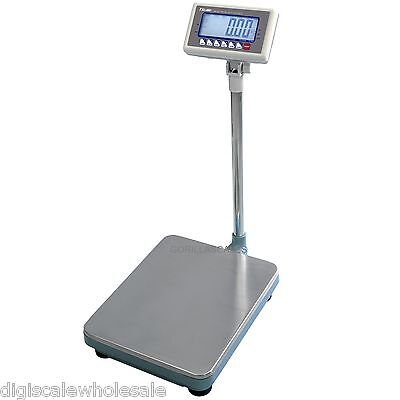 NTEP Heavy Duty Platform Floor Scale 200lb x 0.05 Pound RS232C T-Scale MBW-200