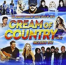 Cream Of Country Vol.17 Various Artists - NEW CD DVD set - FAST FREE POSTAGE