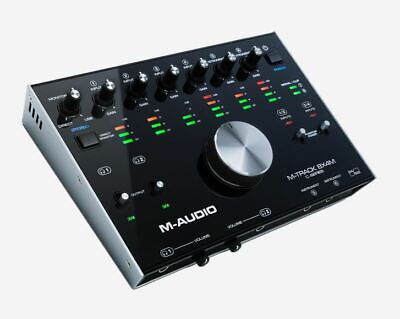 M-Audio M-Track 8x4M 8 In 4 Out 24/192 USB MIDI Audio Interface MTrack8x4M