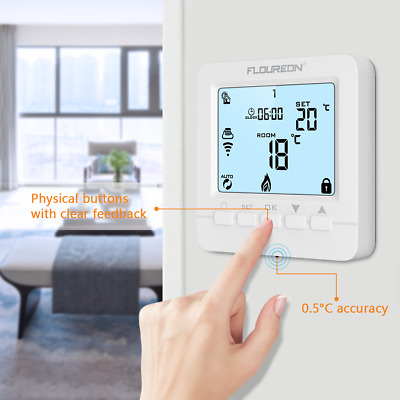 Floureon Smart Digitale Wifi Termostato Temperatura App Controllo Programmabile