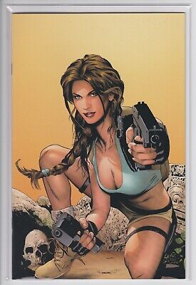 Tomb Raider #40 (Dynamic Forces DF Exclusive Virgin Cover variant) COA Land NM
