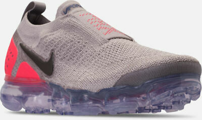 62b7f1f85c1d Nike Air Vapormax Flyknit MOC 2 Shoes Moon Particle Grey   Red Sz 10 AH7006  201