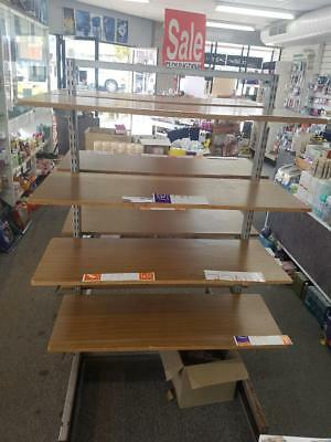 Retail Shop Fittings Doublesided Display (Standalone)
