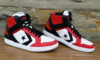 c923cfbb7120 CONVERSE WEAPON ANKLE Sneakers Shoes Black Red White Mens US Size 12 ...