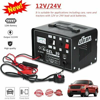 12/24V Car Battery Charger  Trickle Charge Truck Batteries Portable Jump Starter