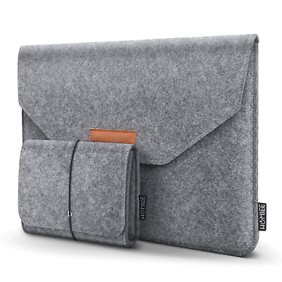 HOMIEE 13-13.3 Inch Laptop Sleeve, Felt MacBook Protective Cover Case for Pro
