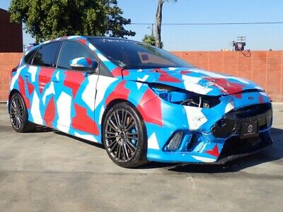 2017 Ford Focus RS 2017 Ford Focus RS Salvage Damaged Vehicle! Priced To Sell Wont Last! Must See!!