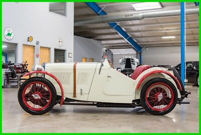1933 MG J2 Roadster  1933 MG J2 Roadster Concourse Museum Show Quality Convertible Right Hand Drive