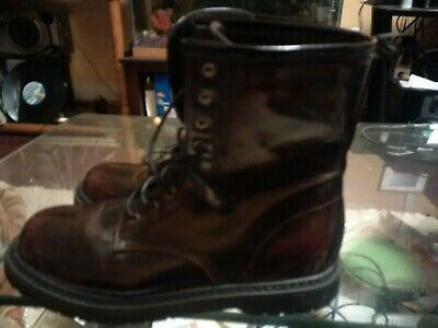 a6667a49301b0 PREOWNED CHARLOTTE RUSSE lace-up cutout boots size 9 -  40.00