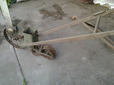 Antique RASSPE garden Plough Seeder