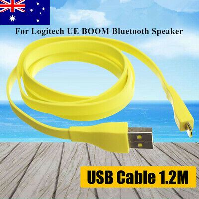 1.2M Micro USB PC Charger Data Cable For Logitech UE BOOM Bluetooth Speaker AU