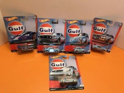 Hot Wheels Car Culture Gulf 5 Car Set