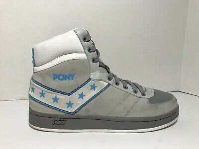 separation shoes 3a07f f2cfc RETRO PONY Uptown Darryl Dawkins Choc Thunder Basketball High Sneakers 12  SHOES