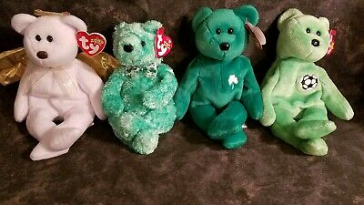 4 Ty Beanie Babys with tags