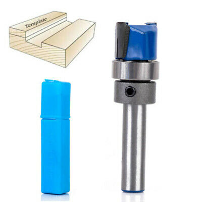 """1/4""""Shank Flush Trim Hinge Mortise Template Router Mill Bit Woodworking Tool"""