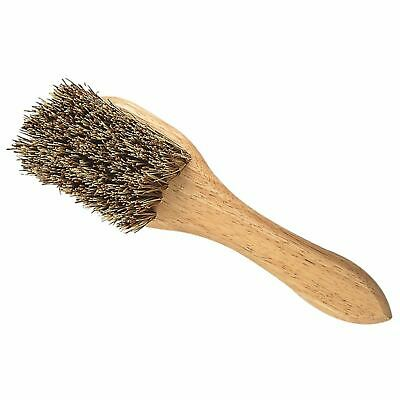 Cottage Craft Stiff Bristled Mud Brush With Handle Horse Grooming Accessories