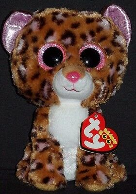 TY BEANIE BOOS - PATCHES the LEOPARD - MINT with MINT TAGS