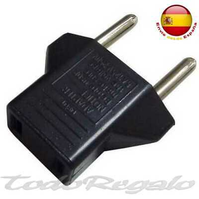 Adaptador de Corriente de USA-ASIA China a enchufe Europeo Conversor Europeo UE