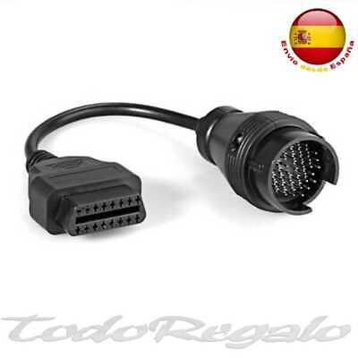 Cable Adaptador Diagnosis de 38 Pin a 16 Pin OBD2 para Mercedes Benz Conversor