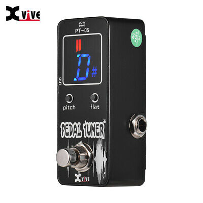 XVIVE Guitar Pedal Tuner Metal Mini Chromatic Pedal Tuner True Bypass Free Ship