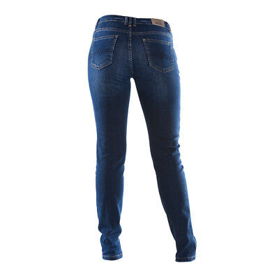COLAC JEANS LENA Slim fashion fit Damenjeans dark used 36 46