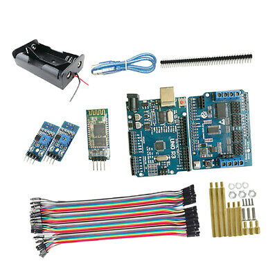 Bluetooth Self-tracking RC R3 Starter Kit for Robot Car Chassis