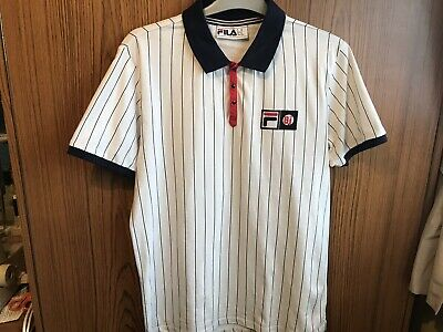 FILA...BJ (BJORN BORG) Settanta Polo Top, Size M Medium