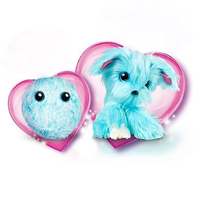 Scruff-A-Luvs Mystery Rescue Fluffy Furry Animal Pet Kids Toy - Aqua Blue