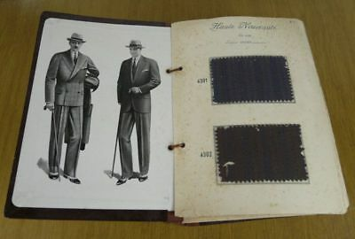 Catalog d'samples fabric, men's fashion summer 1928