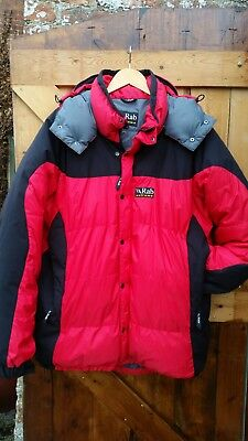 3a290f17c5 RAB SUMMIT EXTREME Men's Down Insulated Jacket QDE-33 size XL Excellent