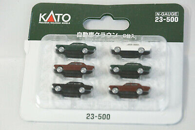 Kato n scale Toyota Autos Crown 6 pieces 23-500 / n gauge