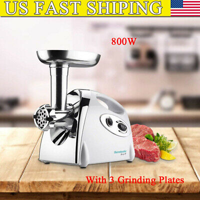 Electric Meat Grinder Sausage Beef Mincer Maker Home Kitchen Heavy Duty 800W