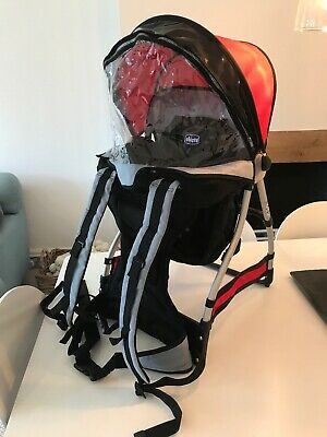 0607558ceb2 Chicco Caddy Baby Toddler Carrier   Backpack good condition with rain cover