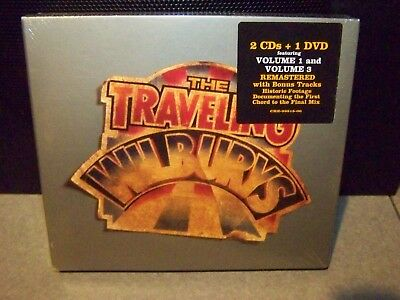 The Traveling Wilburys Vol 1 And 3 Remastered W Bonus  U.s. 2Cd /dvd Sealed