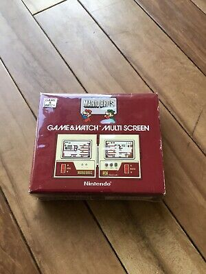 Nintendo Game & Watch Mario Bros Boxed In Excellent Condition Fully Working