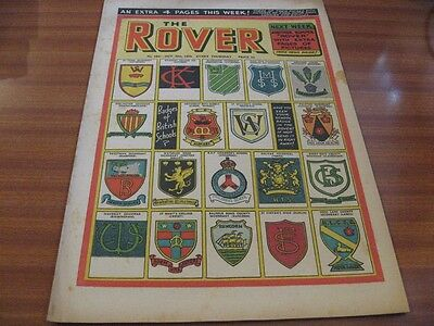 THE ROVER No 1531 OCT 30TH 1954 GOOD CONDITION DC THOMSON VINTAGE BRITISH COMIC