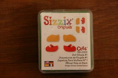 Sizzix Green Die Doll shoes