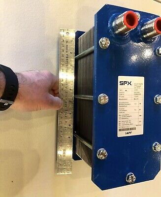 SPX Flow Technology U165R Stainless Steel Plate Stack Heat Exchanger 293F APV