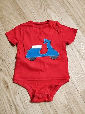 Baby T-shirt bodysuit- scooter theme - 18 -24 months
