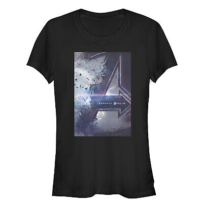 Marvel Avengers: Endgame Movie Poster Juniors Graphic T Shirt