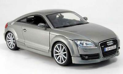 AUDI TT COUPE 1:18 scale diecast metal model Maisto die cast models grey toy car