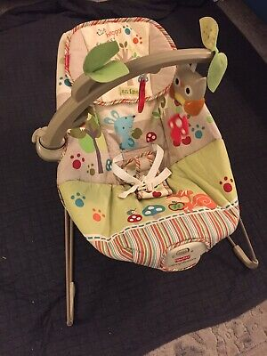 Fisher Price The Happy Forest Animal Baby Bouncer