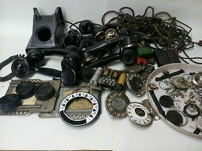 Vintage Phones 300 Etc Spares Case Chassis  Bases Handsets Dials Boxes Bits