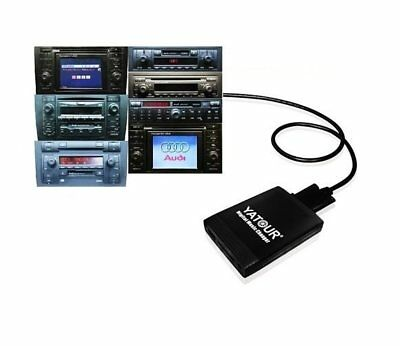 USB SD AUX adattatore mp3 Caricatore adatto per AUDI Plus 3 RNS-Low BNS 5.0 RNS-E