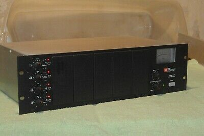 JBL/UREI 7510B automixer works great in good condition with one four input card