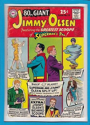 80 Page Giant #13_August 1965_Fine_Jimmy Olsen_Superman_Silver Age Dc!