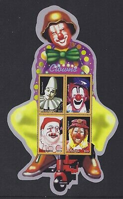 Gambia 2003 Circus Clowns S/S Sc# 2761 NH